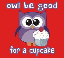 Cute! OWL be good for a cupcake Kids Clothes