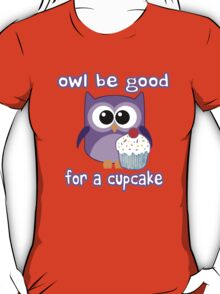 Cute! OWL be good for a cupcake T-Shirt