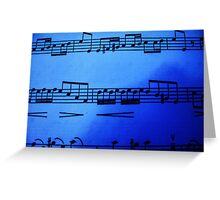 The Blue Note Greeting Card