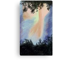Flash In The Sky Canvas Print