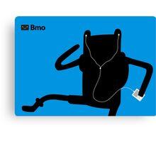 Adventure Time Bmo's Campaign (Apple iPod Parody). Finn Version. Canvas Print