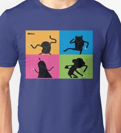 Adventure Time Bmo's Campaign (Apple iPod Parody). Unisex T-Shirt