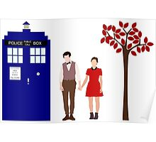 Clara and the 11th Doctor Poster