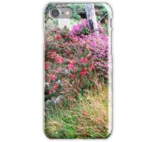 Roadside  Flowers, Donegal, Ireland iPhone Case/Skin