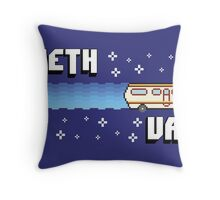 Meth Van Throw Pillow
