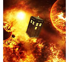 Tardis Space Photographic Print