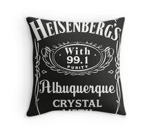 Heisenberg Pure Meth Throw Pillow