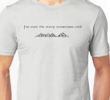 The Hobbit Misty Mountains Unisex T-Shirt