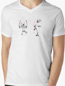 Sushi Time Mens V-Neck T-Shirt