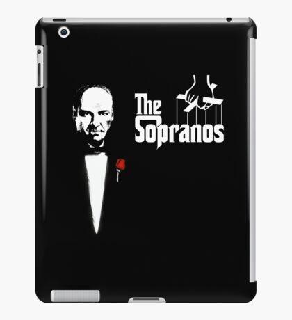 The Sopranos (The Godfather mashup) iPad Case/Skin