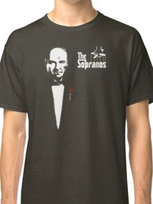 The Sopranos (The Godfather mashup) Classic T-Shirt