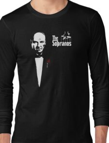 The Sopranos (The Godfather mashup) Long Sleeve T-Shirt