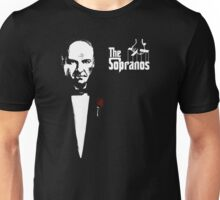 The Sopranos (The Godfather mashup) Unisex T-Shirt