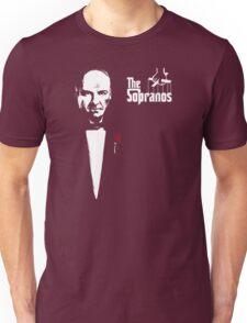 The Sopranos (The Godfather mashup) Unisex T-Shirt