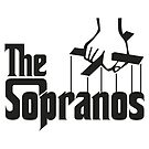 The Sopranos Logo (The Godfather mashup) (Black) by Aguvagu