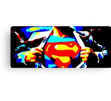 The Man of Steel Canvas Print