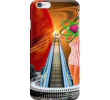 Nuclear powered high speed escalator iPhone Case/Skin