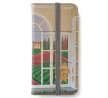 Tuscan Vineyard Mural iPhone Wallet/Case/Skin