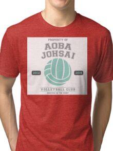 Team Aoba Johsai Tri-blend T-Shirt