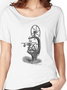 Griffith's Patent Band Saw c1890 Women's Relaxed Fit T-Shirt