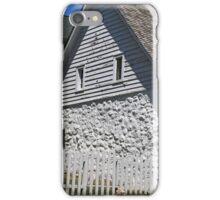Old Stone House Mackinac Island BW iPhone Case/Skin