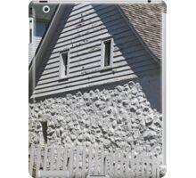 Old Stone House Mackinac Island BW iPad Case/Skin