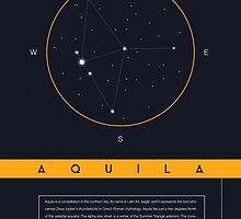 Aquila Constellation by BlueBlackBeige