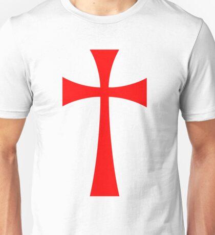 Long Cross - Knights Templar - Holy Grail - The Crusades Unisex T-Shirt