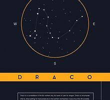 Draco Constellation by BlueBlackBeige