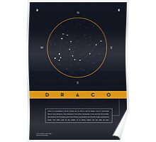 Draco Constellation Poster