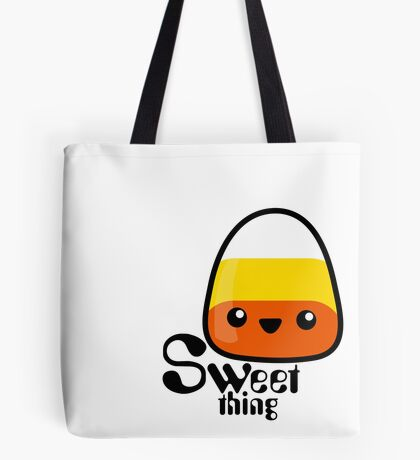 "Candy Corn ""Sweet Thing"" Tote Bag"