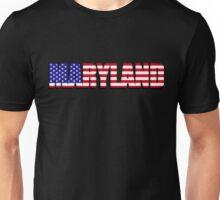 Maryland United States of America Flag Unisex T-Shirt