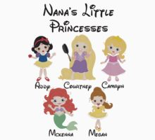 Custom Nana's Little Princeses by sweetsisters