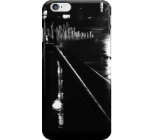 Lamppost Reflection iPhone Case/Skin