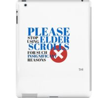 Insignificant Reason iPad Case/Skin