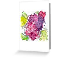 Flower Burst Greeting Card