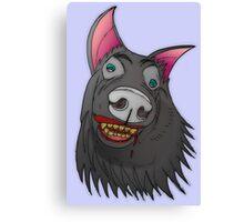 Wait... is Charlie a werewolf? Canvas Print