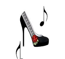 ¸.•*•♪ღ♪¸.•*¨¨SAMSUNG GALAXY IPHONE CASE~~PIANO KEYS HIGH HEEL STEPPING TO THE BEAT¸.•*•♪ღ♪¸.•*¨¨  by ╰⊰✿ℒᵒᶹᵉ Bonita✿⊱╮ Lalonde✿⊱╮