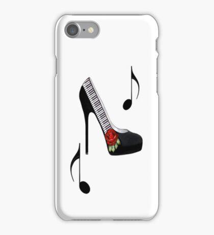 ¸.•*•♪ღ♪¸.•*¨¨SAMSUNG GALAXY IPHONE CASE~~PIANO KEYS HIGH HEEL STEPPING TO THE BEAT¸.•*•♪ღ♪¸.•*¨¨  iPhone Case/Skin