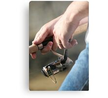 Reel Fishing Metal Print