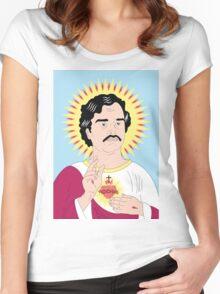 Saint Pablo Women's Fitted Scoop T-Shirt