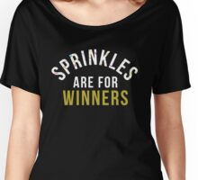 Sprinkles Are For Winners Women's Relaxed Fit T-Shirt