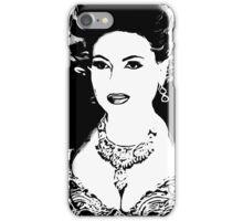 The Evil Queen B&W iPhone Case/Skin