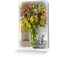 Kitchen Bouquet Greeting Card