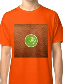 Opensuse with leather texture Classic T-Shirt