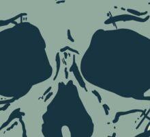 Grinning Skull Sticker
