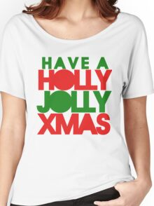 Holly Jolly xmas Women's Relaxed Fit T-Shirt