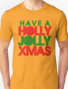 Holly Jolly xmas Unisex T-Shirt