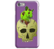 Zompeach panic iPhone Case/Skin