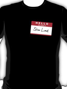 Hello, My Name Is Star Lord T-Shirt